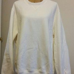 Arrow Men's Long Sleeve White Sweatshirt